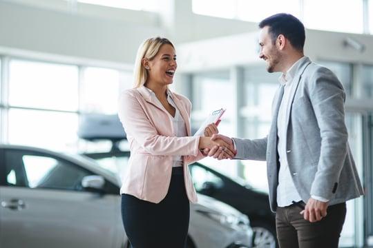 dealer handshake